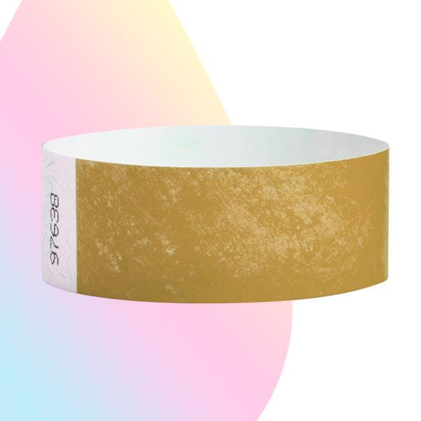 pulseras-para-eventos-sin-imprimir-dorado