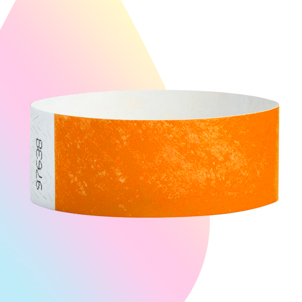 pulseras-para-eventos-sin-imprimir-naranja-neon
