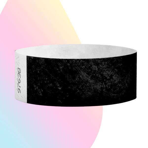 pulseras-para-eventos-sin-imprimir-negra