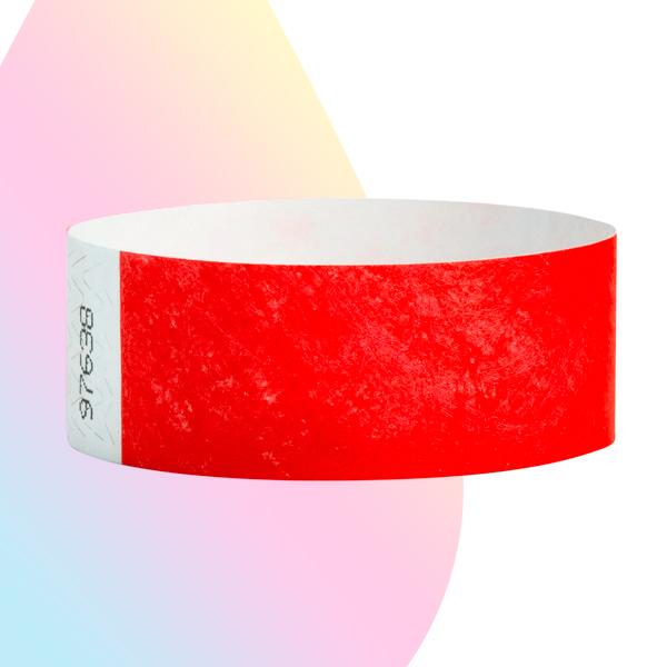 pulseras-para-eventos-sin-imprimir-rojo-nron
