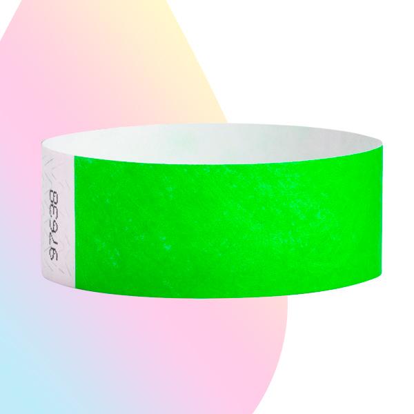 pulseras-para-eventos-sin-imprimir-verde-neon