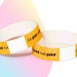 pulseras-para-eventos-con-impresion-naranja-neon
